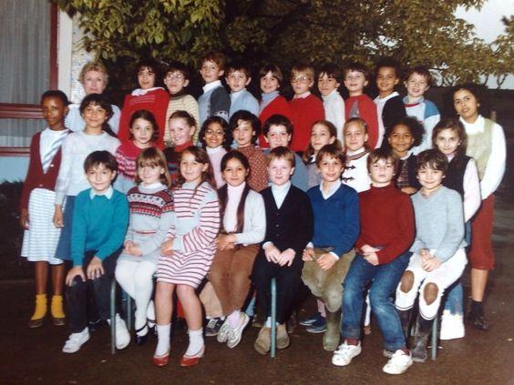 Photo de classe CE2 - 1983-1984 de 1984, Ecole Langevin Wallon