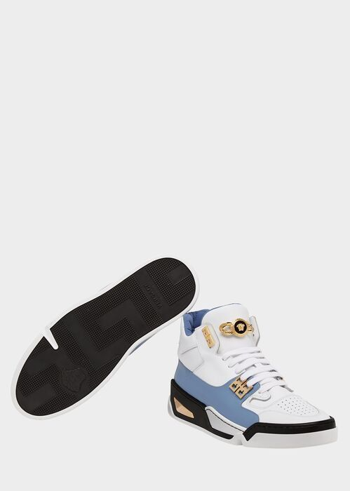 Sneakers, Versace shoes, Sneakers white