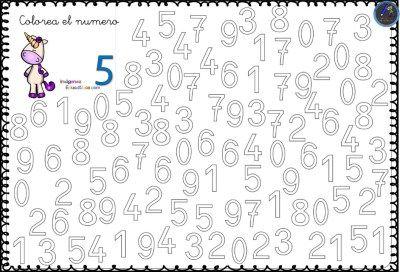 Fichas Para Trabajar Los Numeros Del 0 Al 9 6 Imagenes Educativas Fichas Y Aprendizaje De Los Numeros