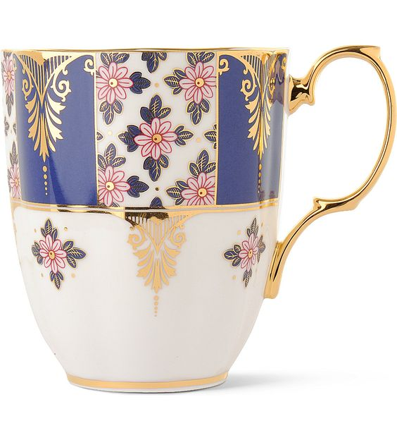 ROYAL ALBERT - Regency Blue 1900 mug | Selfridges.com