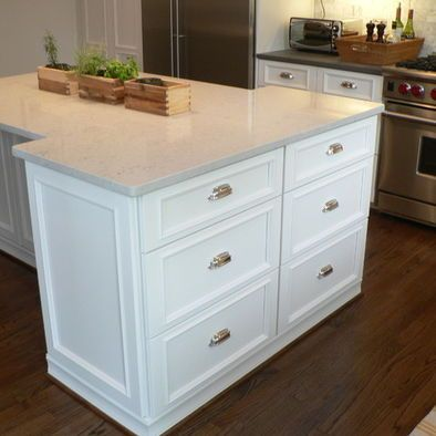Other Side Of T Shape Kitchen Island Kitchens