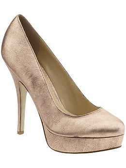 Enzo Angiolini  Rose Gold Pump  Found at Piperlime
