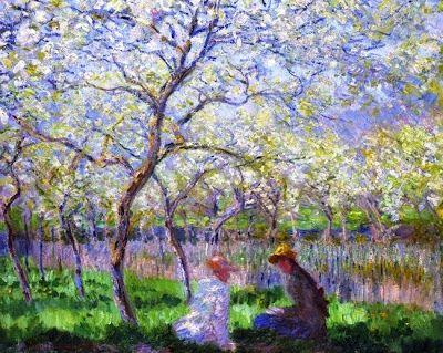"""Harmonia & Prosperidade: Respire antes de falar """"Se você observar as conversas à sua volta, perceberá que, frequentemente, o que a maioria de nos faz é simplesmente esperar a nossa vez de falar. Não estamos realmente  ouvindo a outra pessoa,..."""".Texto de Richard Carlson com pintura de  Claude Monet, 1886. No Blog: harmoniaeprosperidade.blogspot.com"""