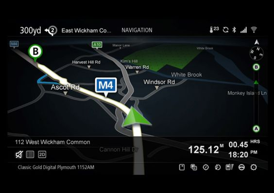Aston Martin One-77 Infotainment System by How Splendid , via Behance