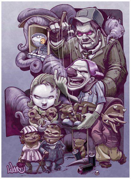 Family monster - Imágenes de Otros en Temática General   Dibujando