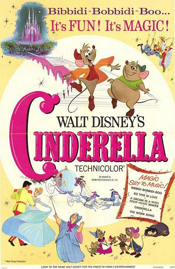 Image result for cinderella disney poster