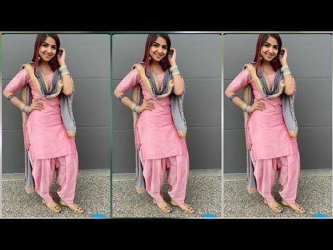 Punjabi Salwar Suits Designs Latest Punjabi Salwar Suits Images 2019 2020 Youtube Indian Designer Suits Punjabi Salwar Suits Punjabi Outfits