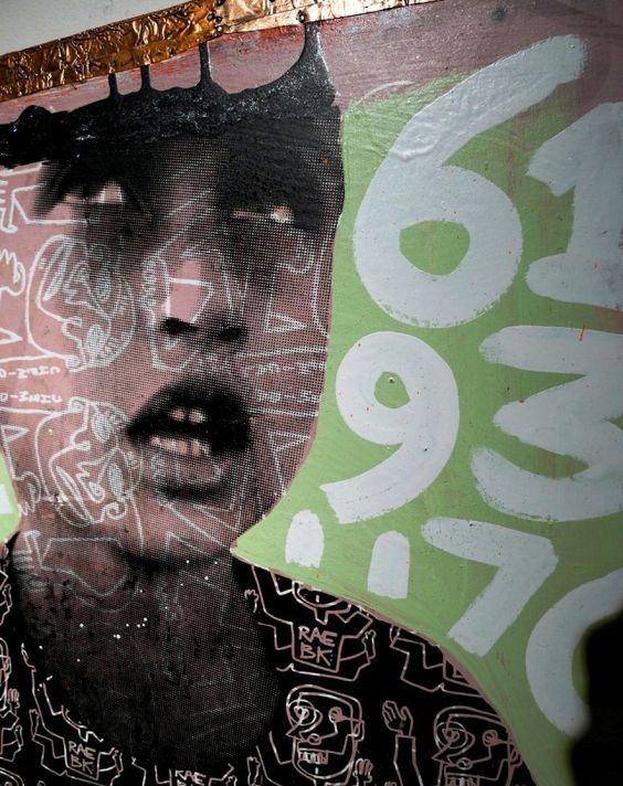 NY street artist, RAE