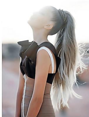 Gorgeous long ponytail