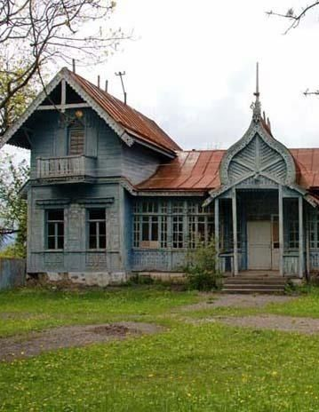 Abandoned home, Russia. by cristina