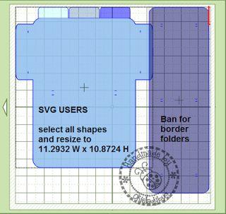 Okieladybug's Scrap N' More: Embossing Folder Storage - MTC SVG format