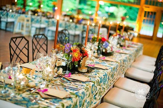 mantel de flores/jardín: