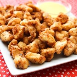 Chick-Fil-A nuggets at home (copycat version)