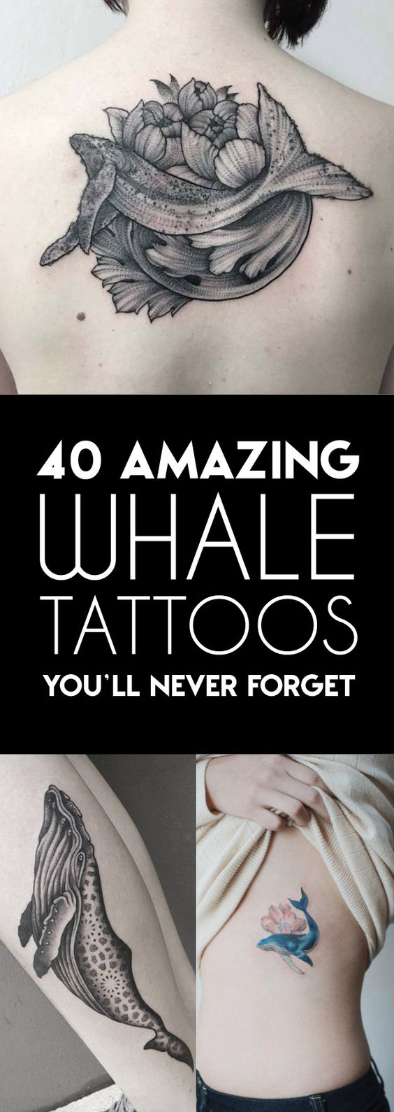40 Amazing Whale Tattoos | TattooBlend