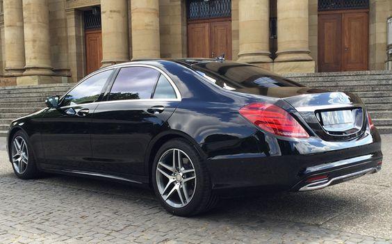 Mercedes-Benz S-Klasse Langversion hinten