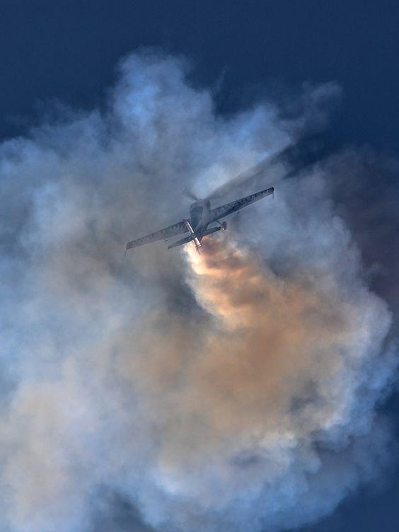 In the smoke by Csaba Szilágyi