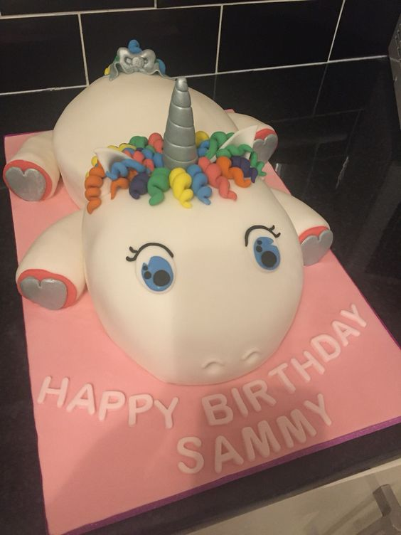 Unicorn Birthday Cakes Unicorns And Birthday Cakes On Pinterest