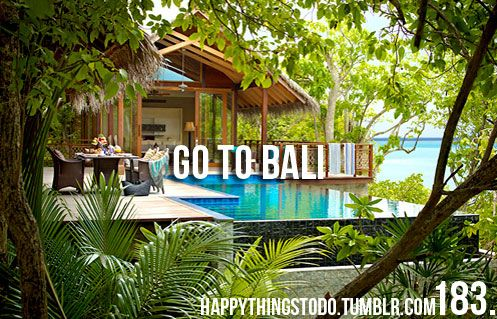 Go to Bali