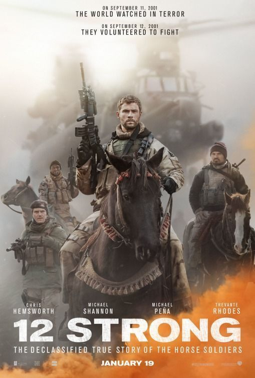 12 Strong (2018) Hindi Dual Audio 480p BluRay x264 400MB