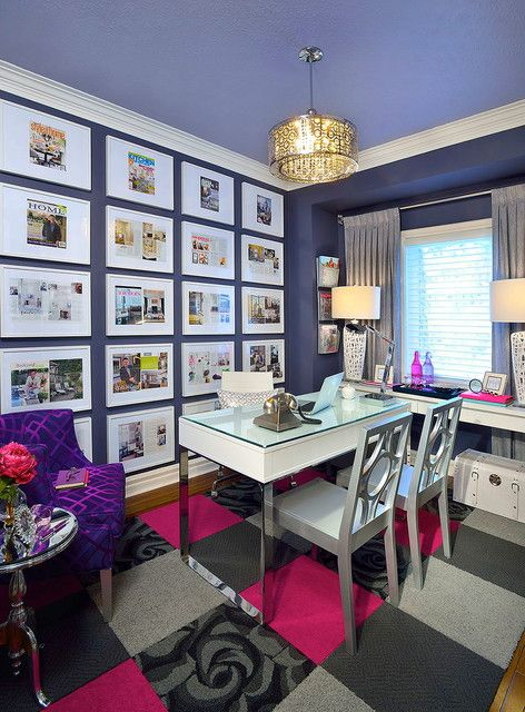cozy contemporary home office. cheerful office interior design inspiration in vary themes cozy contemporary home
