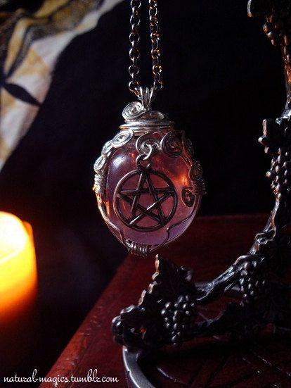 must have Amethyst Pentacle Amulet by NaturalMagics - https://www.etsy.com/shop/naturalmagics