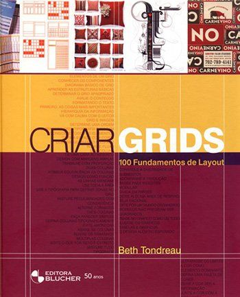 Capa do livro Criar Grids