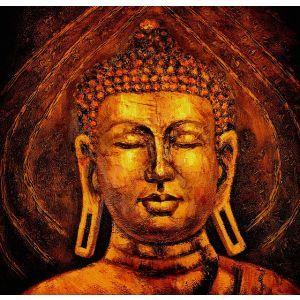 Meditation Buddha Oil Painting