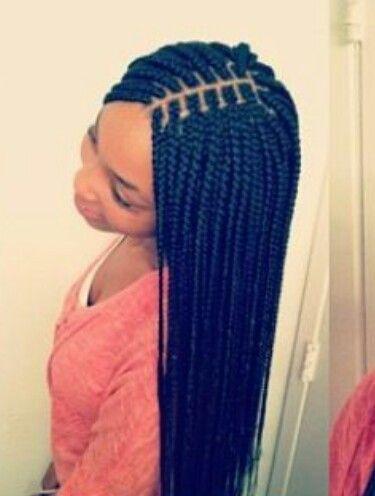 Small Box Braids Hair Styles Pinterest Small Box