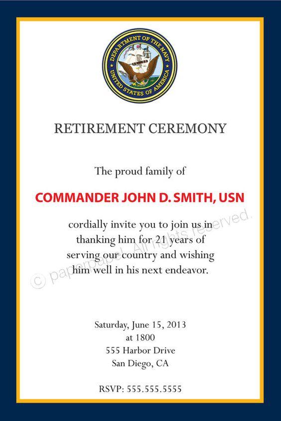 Military Invitations for nice invitations sample