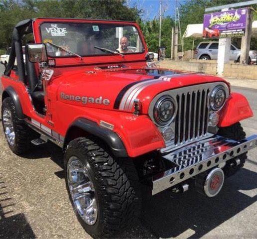 Jeep Cj Rojo Coches Todoterreno Jeep Cj5 Vehiculos Todoterreno