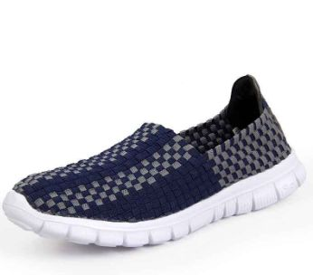 Men's Breathable Woven Sneakers