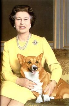 Welsh Corgi #corgi Just another reason to love corgis - the Queen and Queen Mum do