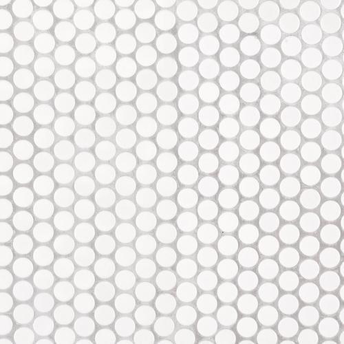 penny white iv porcelain mosaic