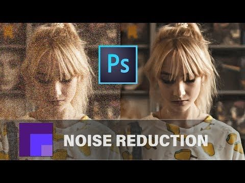 Reduce Noise In Photoshop Cc 2019 Comparison Of Camera Raw Reduce Noise Dfine 2 Youtube Photoshop Camera Raw Noise