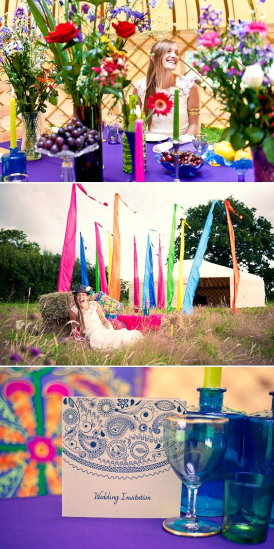 Wedding Yurts ~ A Festival Inspired Photo Shoot to Launch a Magnificent New Addition… | Love My Dress® UK Wedding Blog