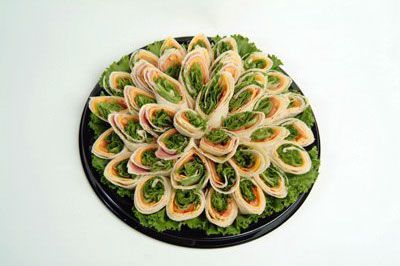 How to display pinwheel tortilla sandwiches | Appetizers ...