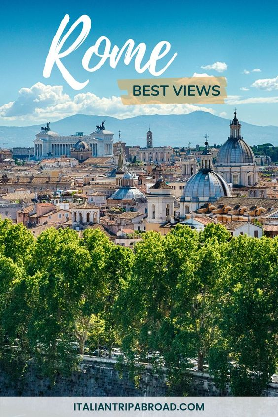 Rome best views to visit