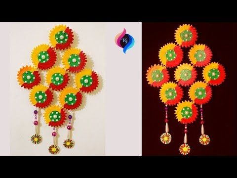 Wall Hanging 2018 Craft From Waste Material Wall Hanging Diy