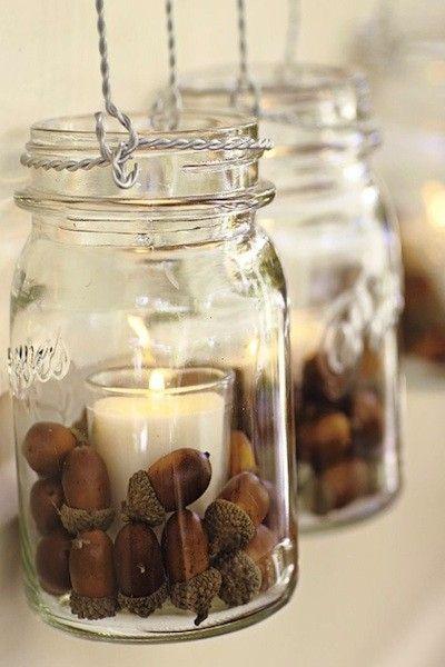 tons of ideas for my favorite fall decor- acorns! by kraftnurs