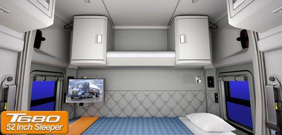 Kenworth Studio Sleepers Interior | Home Truck Kenworth ...