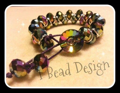Goddess style bracelet.