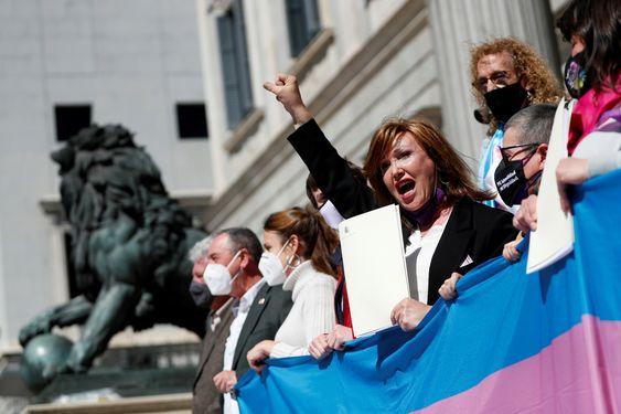 Mar Cambrollé, presidenta de la Federación Plataforma Trans / Efe