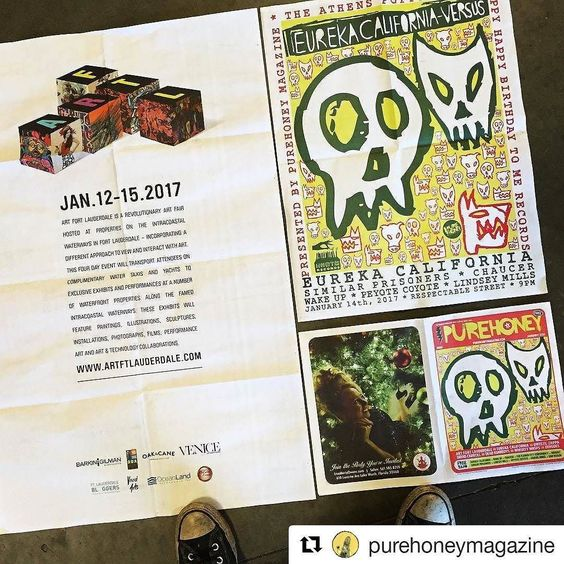 #Repost @purehoneymagazine with @repostapp  PH65 JANUARY is ready! @purehoneymagazine  http://ift.tt/OBuN4L Stories: #ArtFortLauderdale #EurekaCalifornia #DweezilZappa #DavidCarroll #DeadKennedys #WhiskeyWasps #Denudes . Free Songs: Sam Kogon Gravel Kings Peyote Coyote Lindsey Mills Similar Prisoners Hideout Flower City Conspiracy Chaucer Wake Up Eureka California . #ArtFortLauderdale #ArtFTL #Art #Choose954 #HelloSunny #SupportLocal #Community #FTL #FTLauderdale #FortLauderdale #Broward…