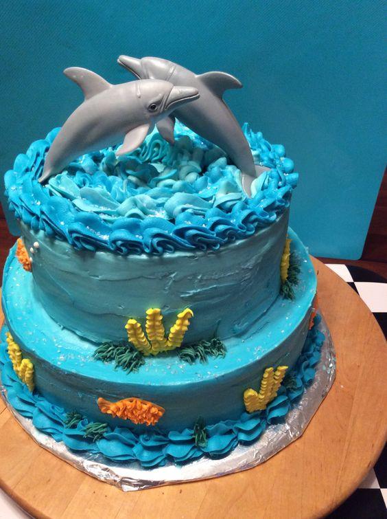 Dolphin cake