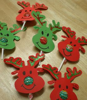 Enchanted Moments: Reindeer Lolly Pops: