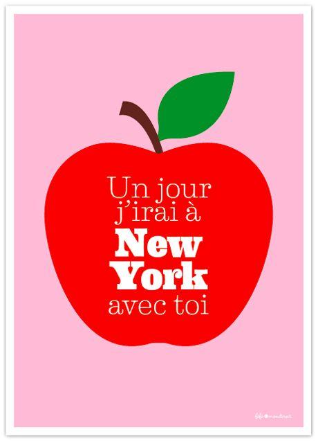 jolie affiche en vente sur le blog de Fifi Mandirac