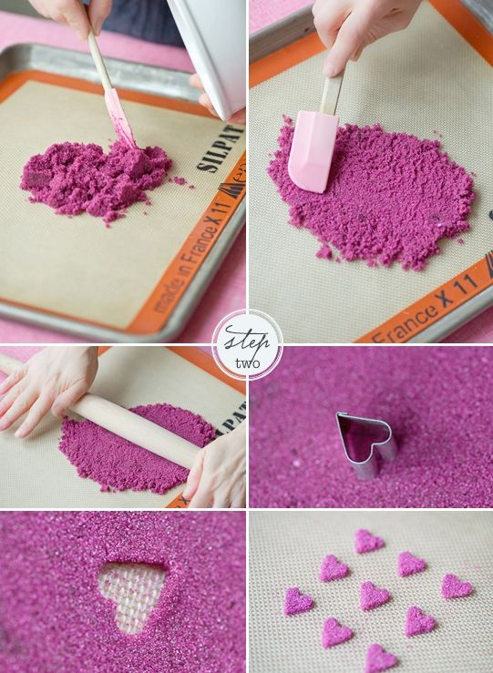 Sugar Heart Cake (tutorial)