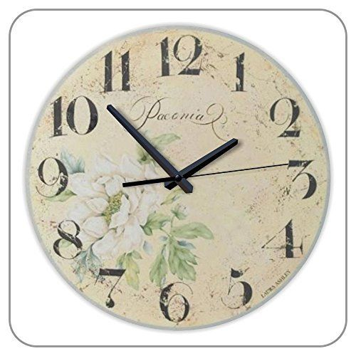 12 Inch Silent Rustic Home Decor Wall Clock Waterproof Clock Dial Quartz Vintage Watch The Wall Clock Wall Clock Rustic Clock