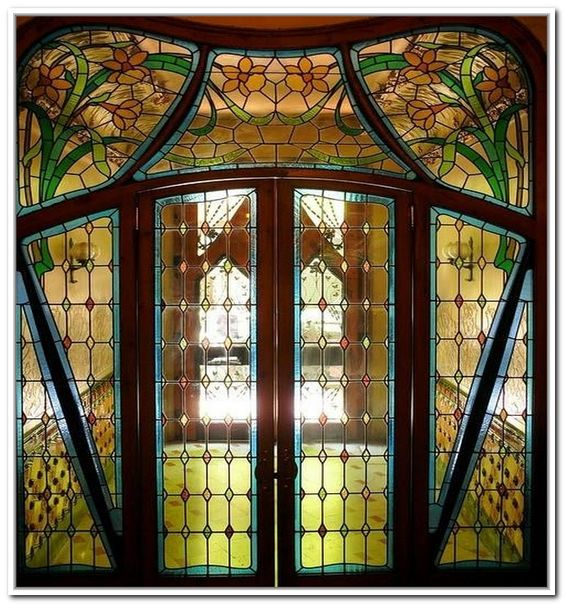 interior double doors with glass - Google Search