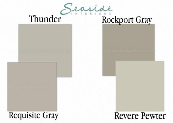 thunder by benjamin moore - Google Search
